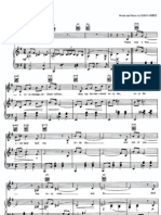 Nature's boy sheet music for piano