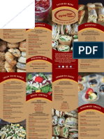 Flying Star Cafe Catering Menu