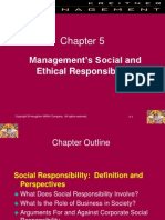 ch05  Management's Social and Ethical Responsibilities