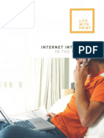 Life With Print Internet Integration in the Media Mix