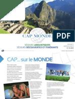 Capmonde Brochure Ete 2013