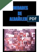 2.2 Clasificación de las Unidades de Albañilería