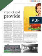 Big Issue North - Predict and Provide