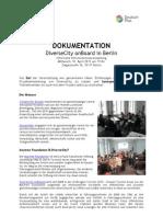 DiverseCity Dokumentation Info-Treffen