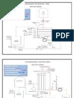 Diagrama Condensador Tipo Haz de Tubos