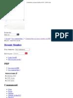 Comment Faire Un Espace Membre en PHP - Le PHP Facile