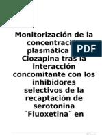 Proyecto de Farmacocinetica Clozapina