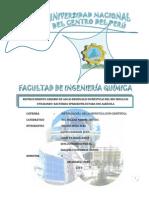 informe final biotratamiento de aguas residuales  para el uso agrícola