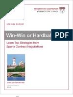 Harvard 1 Sports Negotiation