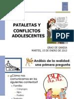 Pataletas-Conflictos Con Adolescentes
