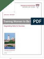 Harvard Training Women