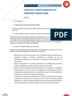 Administracion y Mantenimiento de Windows Server 2008