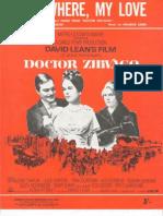 Doctor Zhivago - Somewhere, My Love (Lara's Theme) [Movie]