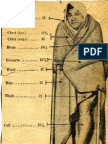 Babe Ruth's 1934 Measurements