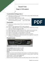 Floppy Usb 144 Pro - Istruzioni