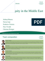 Private Equity in the Middle East