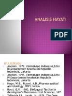 Analisis Hayati