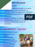 8 disciplinas