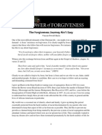 The Forgiveness Journey