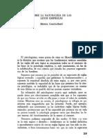 07. MIGUEL GARCÍA-BARÓ, Sobre la naturaleza de las leyes empíricas
