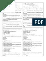 control de apoyo para la evaluación