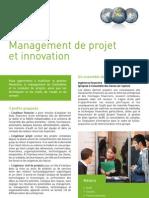 Management de Projet Et Innovation