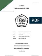 Laporan Mesin Listrik Job 2 _ Muhammad Anwar_ 16 _ Lt-2d
