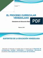 El Proceso Curricular Venezolano Prof Maigualida Pinto