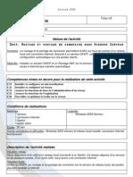 PTI 2 - Routage Partage Connexion sous w2k3