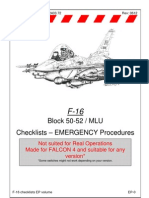 Emergency Procedures Checklists