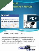 Principales Abreviaturas y Fraces Latinas