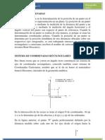 TIPOS DE COORDENADAS EN TOPOGRAFÍA