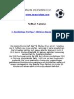 3. Liga - Stuttgart bleibt zu Hause eine Macht