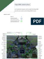 3D Cockpit Mirage 2000C