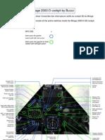 3D Cockpit Mirage 2000-D