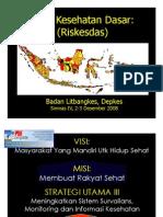 RESUME HASIL RISET KESEHATAN DASAR INDONESIA