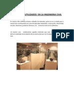 Minerales Utilizados en La Ingenieria Civil