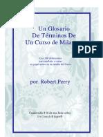 Un Glosario De Ucdm - Edicion de Cortesía