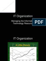 IT Organisation