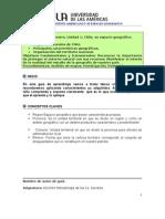 Guia de Aprendizaje de Chile y Sus Relieves