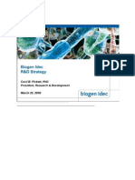 Biogen Idec Research Presentation