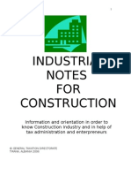 Industrial Notes for C.I. in Albania