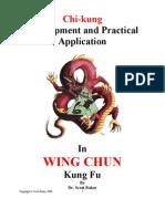 Martial Arts - Chi-Kung - Wing Chun Kung Fu