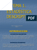 1.Estadística descriptiva