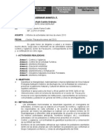 Informe Nº  001-2013 Mensual Enero.