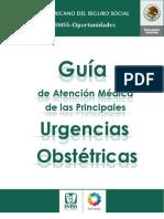 3. Guía de manejo de las urgencias obstétricas