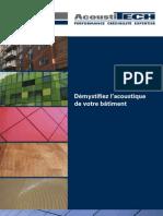 Brochure Acoustique Francais
