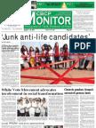 CBCP Monitor Vol. 17 No. 8