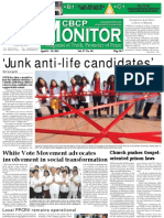 CBCP Monitor Vol. 17 No. 8
