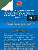 Tahapan Pemilu 2014 Oke